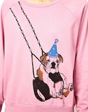 Image 3 of Brat & Suzie Swing Dog Sweat Top