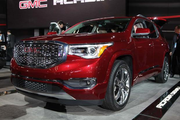 GMC Acadia Reviews   News   Autotrader Auto Show  2017 GMC Acadia