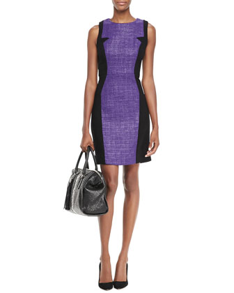image of professional work dress in radiant orchid