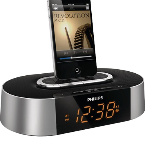 Phillips iPhone/iPod Alarm Clock Radio: $30