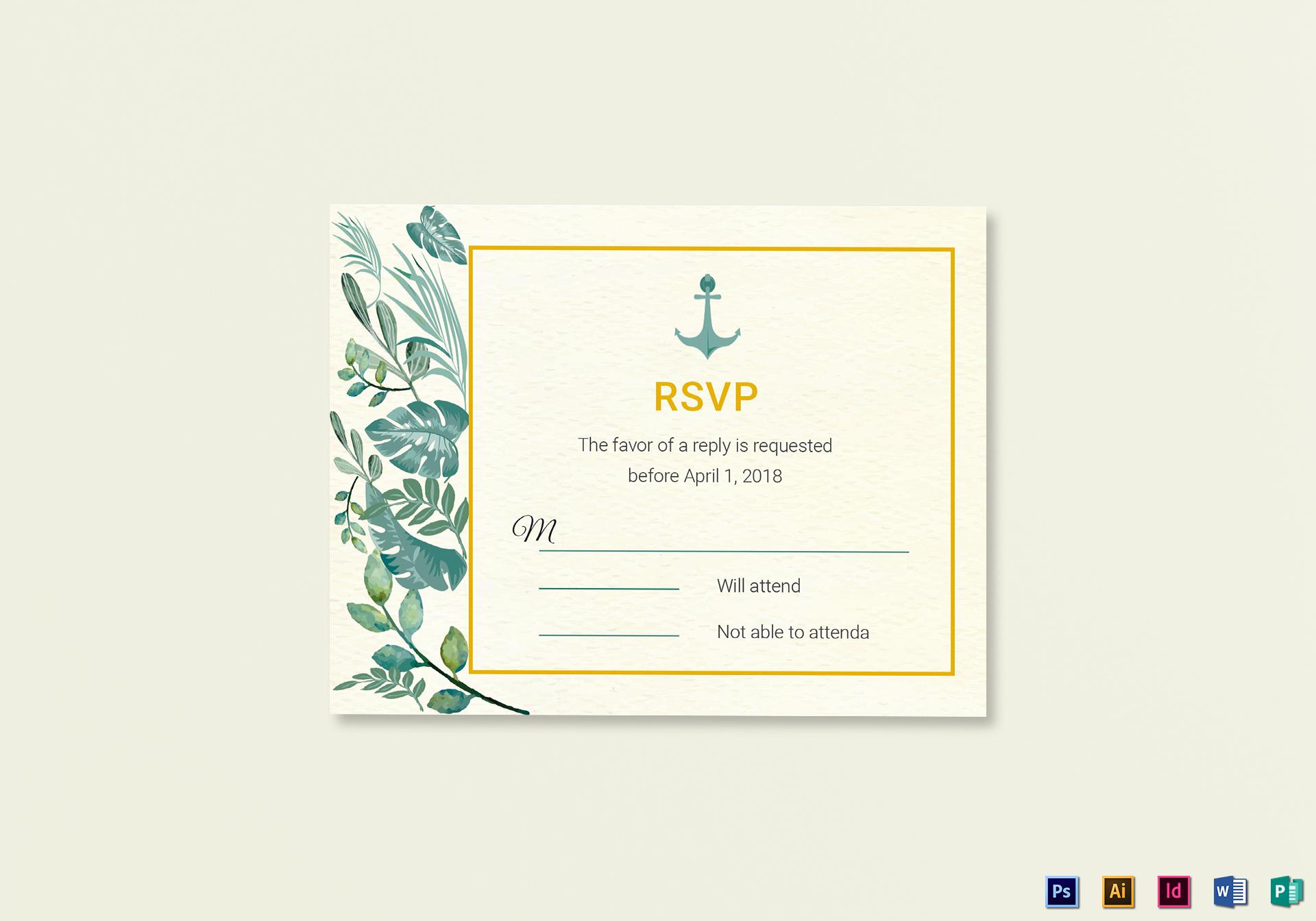 Cool Publisher Wedding Rsvp Cards Wording Wedding Rsvp Cards How To Respond Nautical Wedding Rsvp Card Template Nautical Wedding Rsvp Card Template nice food Wedding Rsvp Cards