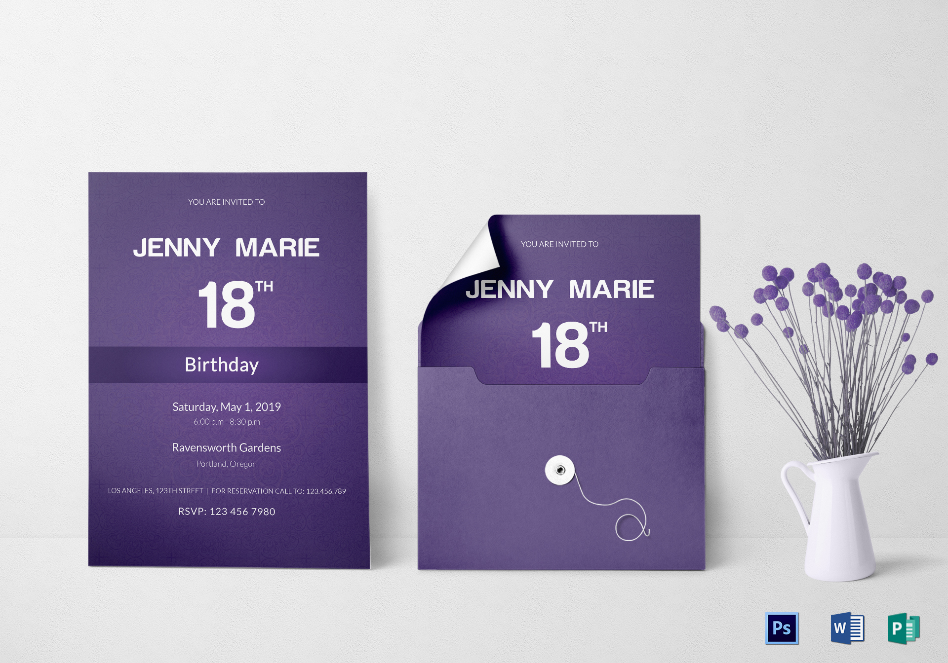 Luxurious Debut Event Invitation Card Template Debut Event Invitation Card Design Template Publisher Invitation Card Templates Free Invitation Card Template Microsoft Word wedding invitation Invitation Card Template
