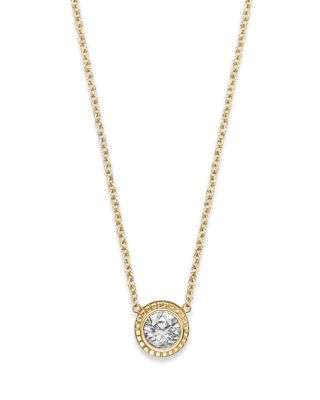 Medium Of Diamond Pendant Necklace