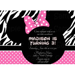 Fetching Photo Minnie Mouse Invitations Diy Minnie Mouse Zebra Baby Shower Invitations Baby Shower Minnie Mouse Baby Shower Invitations Minnie Mouse Invitations invitations Minnie Mouse Invitations