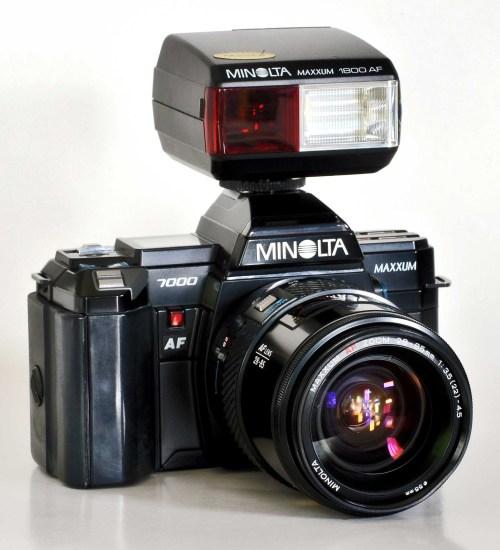 Medium Of Minolta Maxxum 7000
