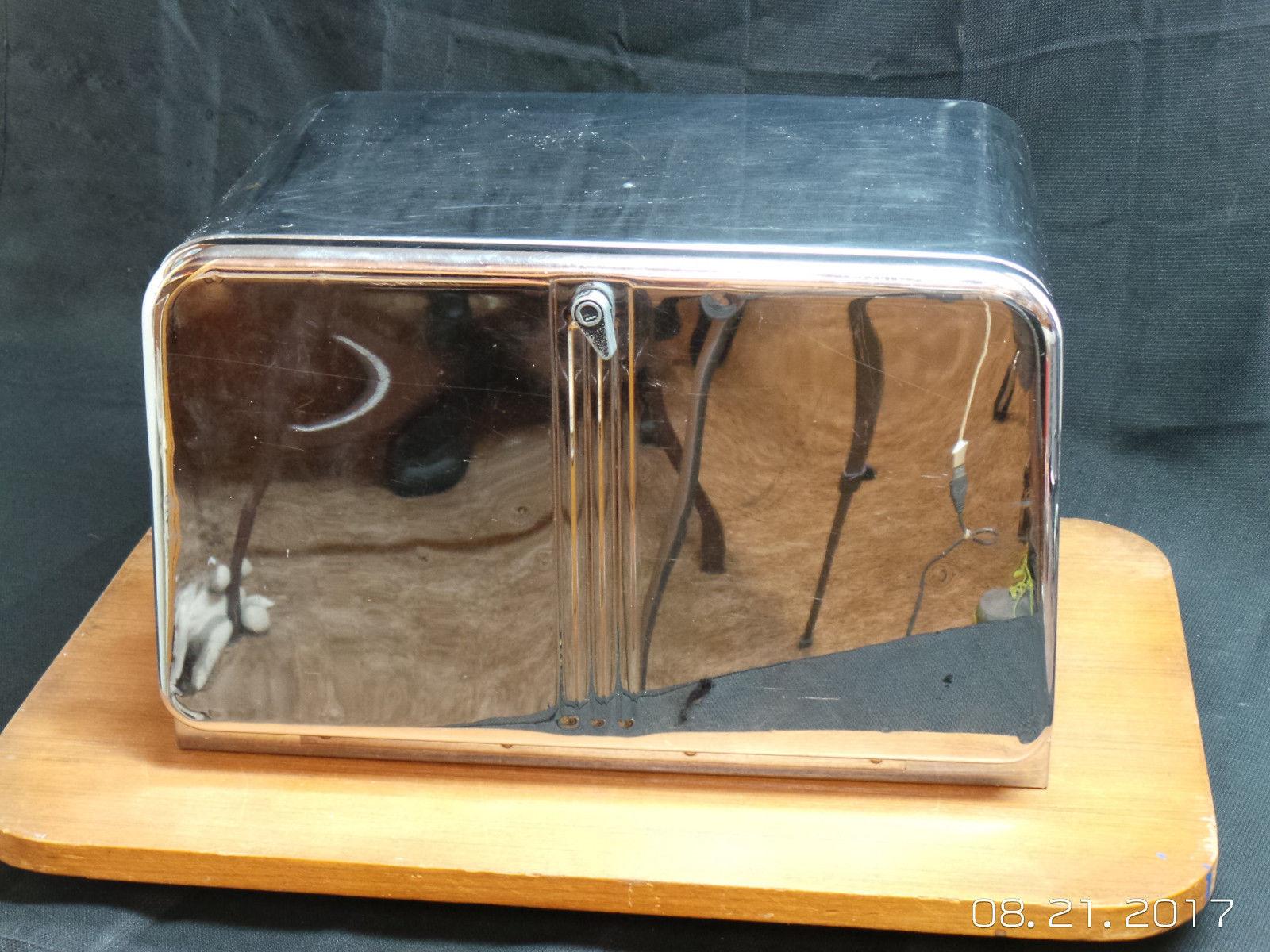 Modish Vintage Lincoln Beauty Box Bread Box Stainless Steel Lincoln Bread Listing Vintage Bread Box Canada Vintage Bread Box Shelf houzz-03 Vintage Bread Box