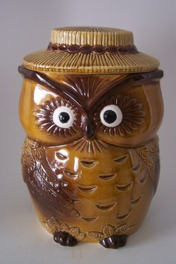 Small Of Owl Cookie Jar