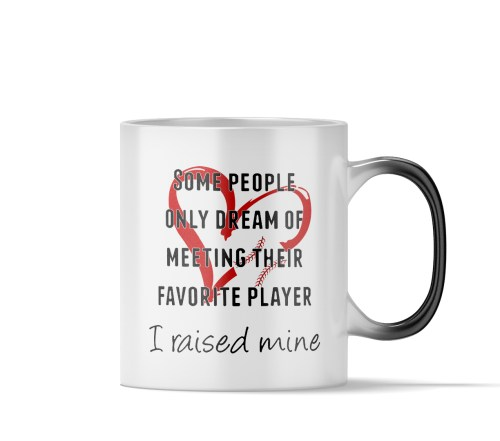 Medium Of Baseball Coffee Mug