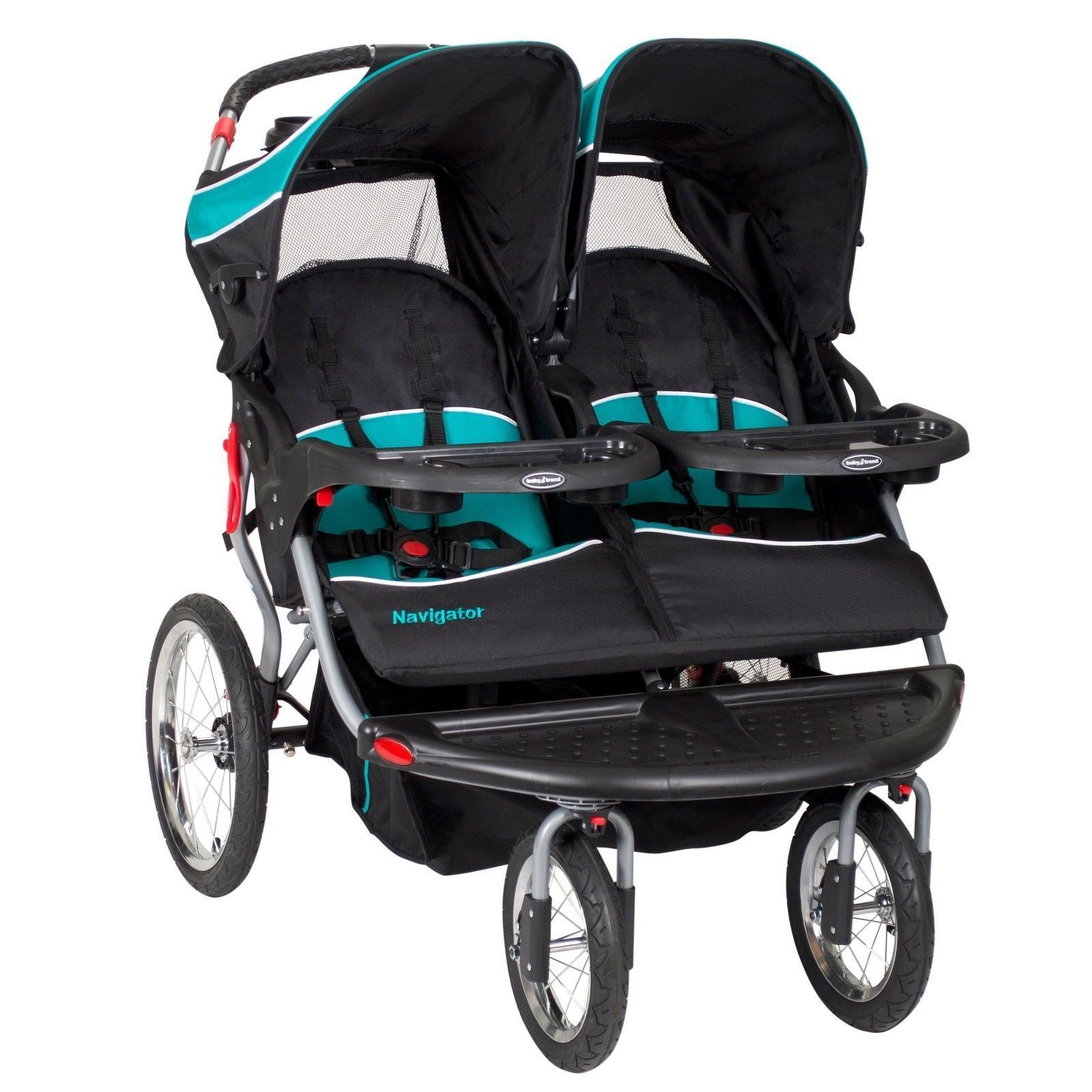 Fullsize Of Double Stroller With Car Seat