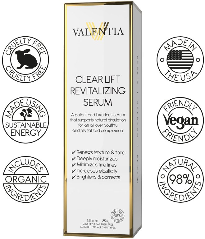 clear lift, anti aging. serum, anti aging, cream, face cream, fine lines, wrinkles, youthful look, clear lift revitalizing serum