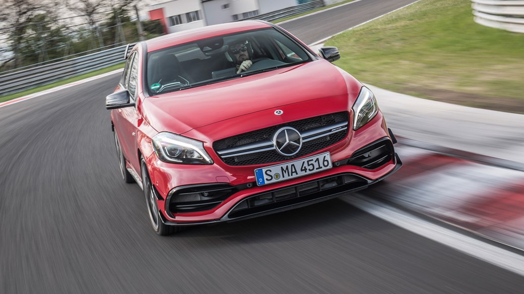 Mercedes-AMG A45 (2017) review
