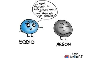 sodio e argon