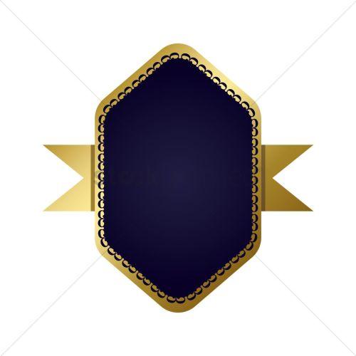 Medium Of Navy Blue And Gold