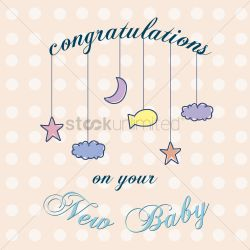 Charmful Text Saying Congratulations On Your New Baby Vector Graphic Vector Text Saying Congratulations On Your New Baby Vector Congratulations On New Baby Meme Congratulations On New Baby Boy Images