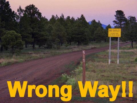 Wrong Way!!