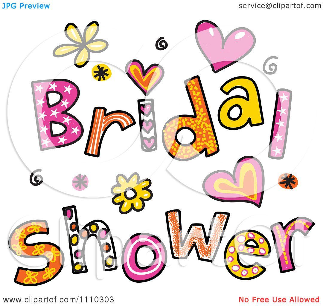 Fullsize Of Bridal Shower Clipart