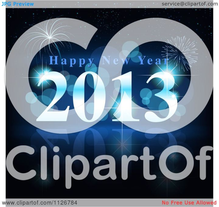 Happy New Year Fireworks Clip Art.6 Animated Happy New Year Clipart Free 2014