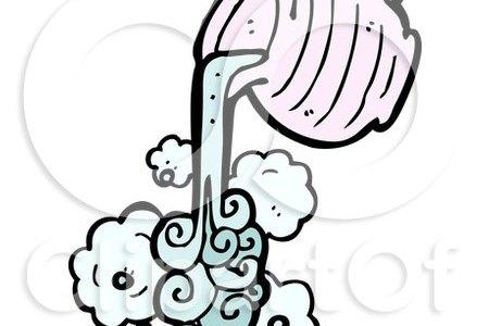 1150253 cartoon of a pouring aquarius water jug royalty free vector clipart