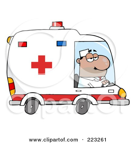 Sometimes I Drive the Ambulance (but I'm not an ambulance driver) (4/6)