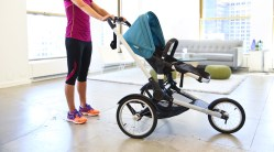 Terrific Woman Pushing Jogger Stroller Jogging Strollers Schwinn Jogging Stroller Interval Schwinn Jogging Stroller Accessories