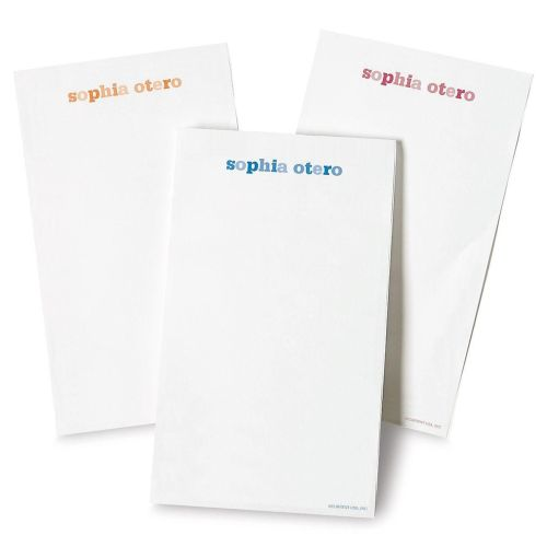 Medium Of Personalized Note Pads