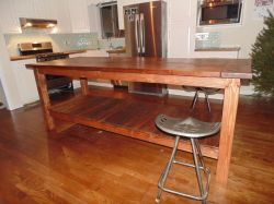 Appealing Custom Made Reclaimed Wood Farmhouse Kitchen Island Hand Crafted Reclaimed Wood Farmhouse Kitchen Island By Wonderland Rustic Reclaimed Wood Kitchen Island Rustic Wood Island