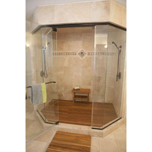 Medium Crop Of Teak Shower Mat