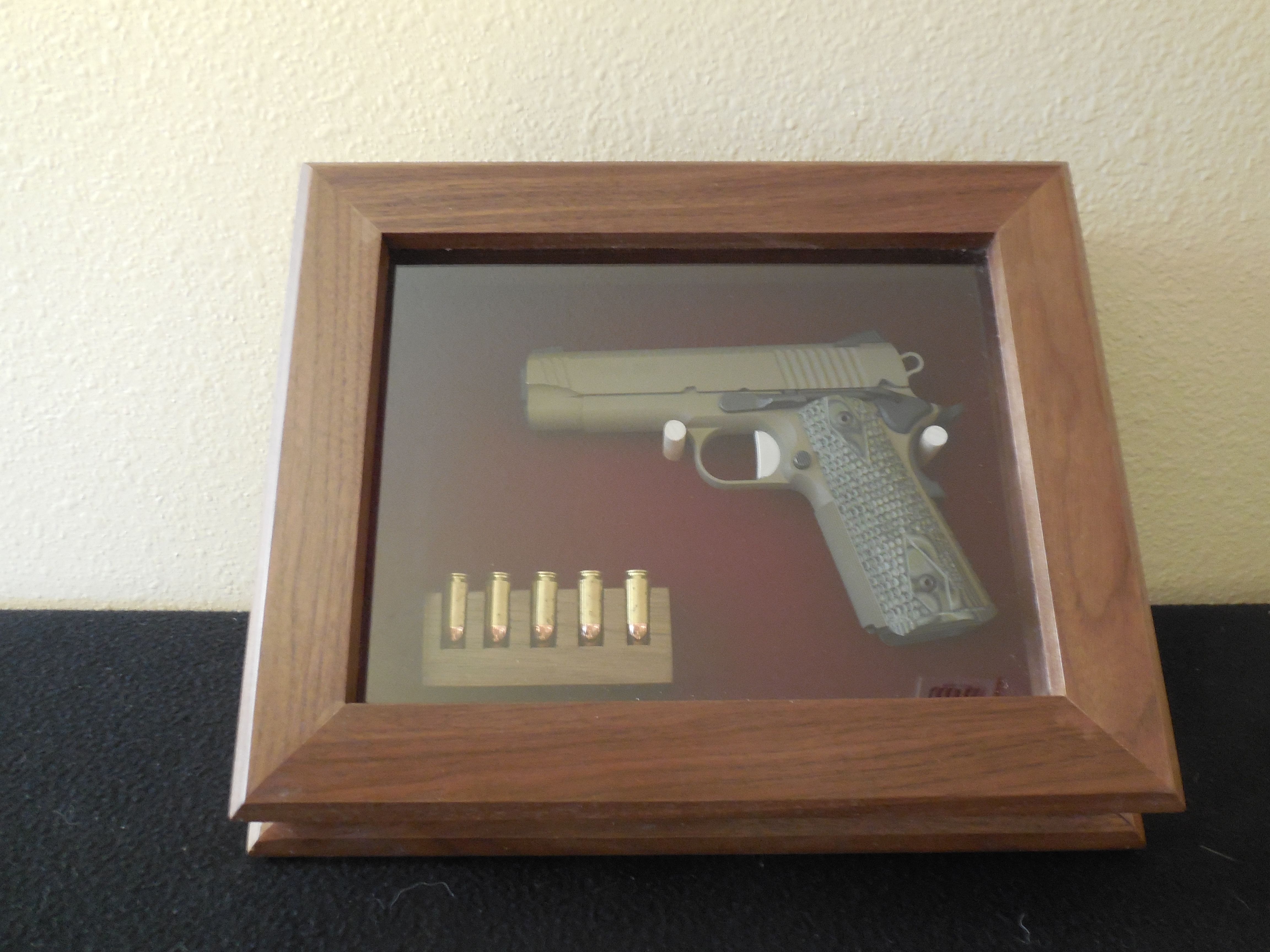 Creative Custom Made Pistol Display Case Handmade Pistol Display Case By Longhorn Woodworks Supply Commercial Gun Display Cases Custom Gun Display Case houzz-03 Gun Display Case