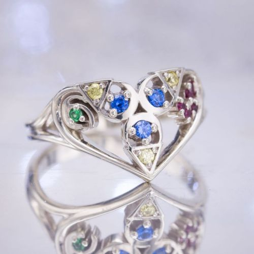 Medium Of Nerdy Engagement Rings