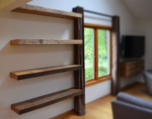 Medium Of Floating Shelves Design