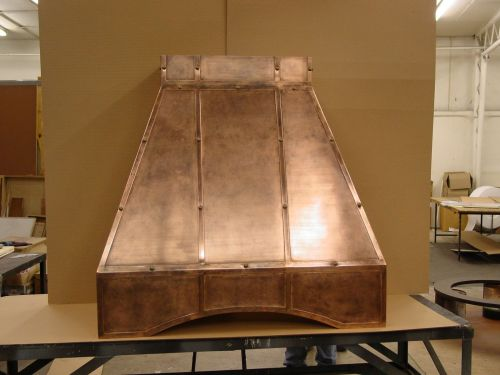 Medium Of Copper Range Hoods