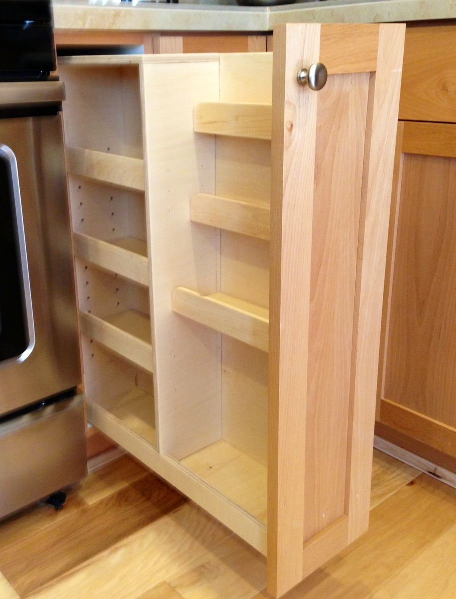 Grande Pull Out Spice Rack Handmade Pull Out Spice Rack By Brors Custom Furniture Pull Out Spice Rack Diy Pull Out Spice Rack Upper Cabinet houzz 01 Pull Out Spice Rack