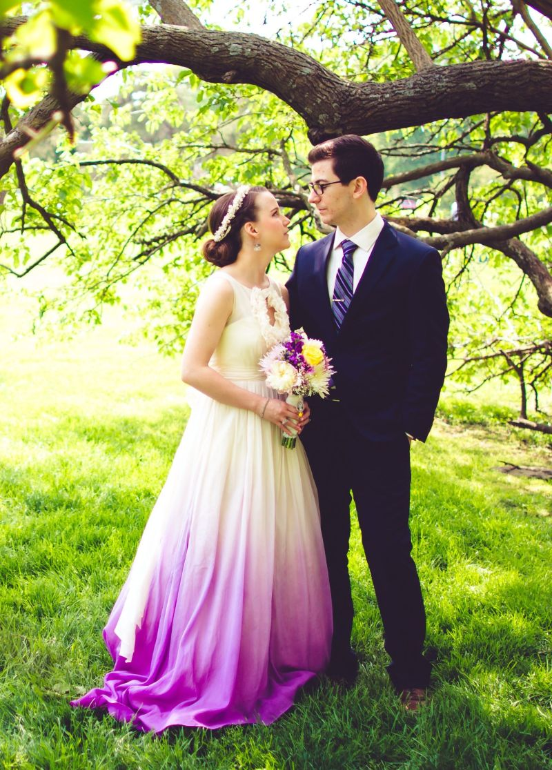 Large Of Ombre Wedding Dress
