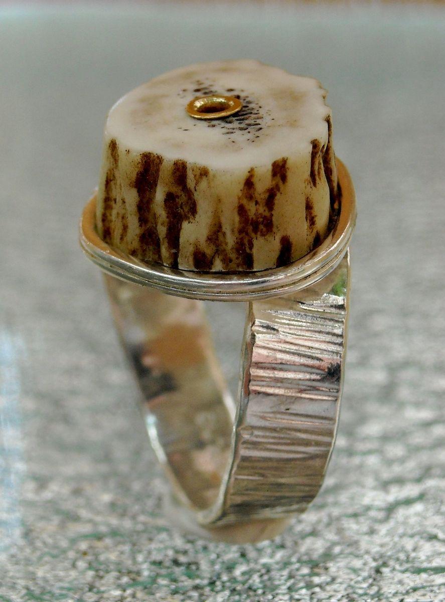 deer antler wedding rings deer wedding bands Womens Antler Wedding RingWedding Rings