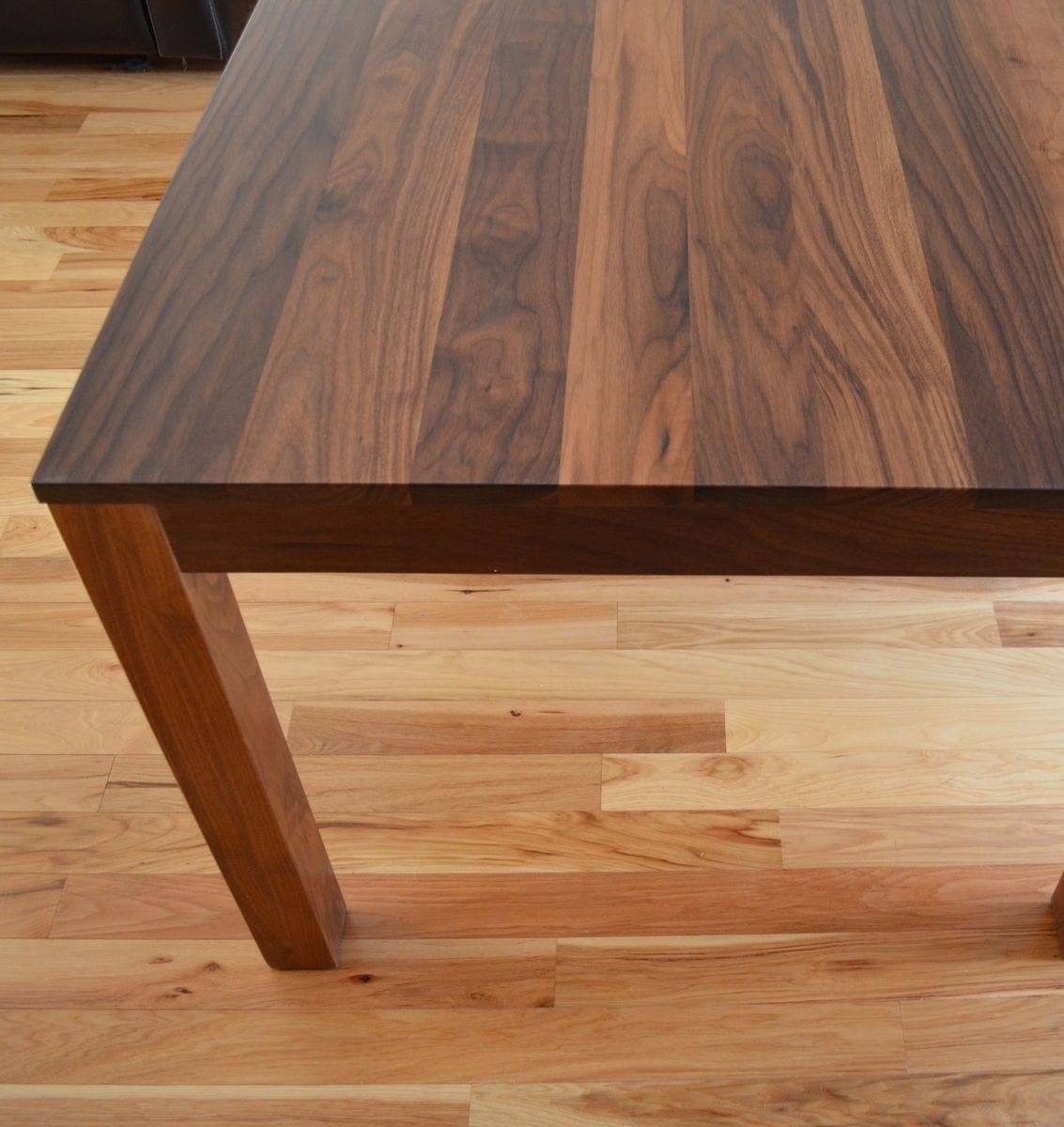 solid walnut dining table custom kitchen tables Custom Made Solid Walnut Dining Table Custom Made Solid Walnut Dining Table By Fabitecture CustomMade