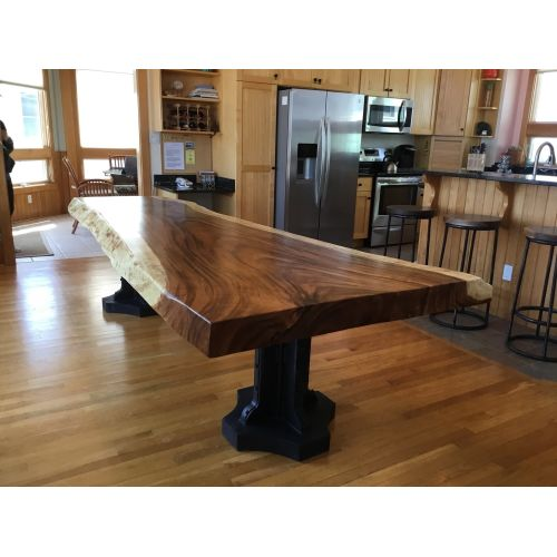Medium Crop Of Live Edge Dining Table