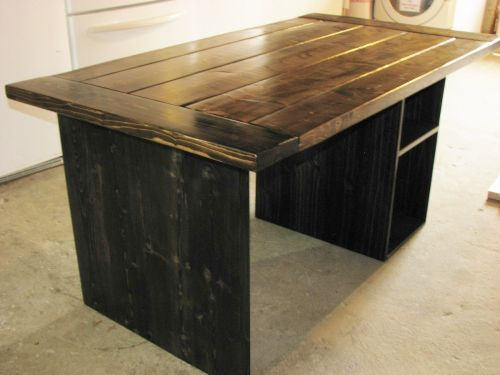 Medium Of Homemade Rustic Furniture
