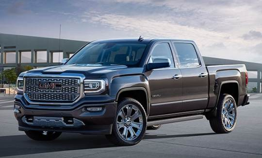 2016 GMC Sierra   Schenectady The GMC Sierra 1500 line of full size pickups has been updated for 2016  with the latest technology and revised styling  Distinctive grilles and  other visual