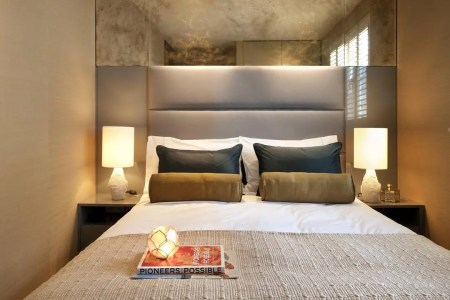 small style contemporary bedroom design