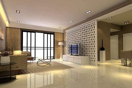 perfect living room wall design