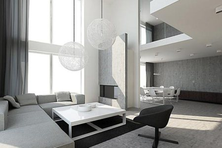 modern inspire living room design
