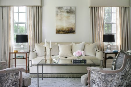 cly white small formal living room