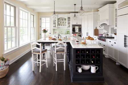 traditional l shaped kitchen design1