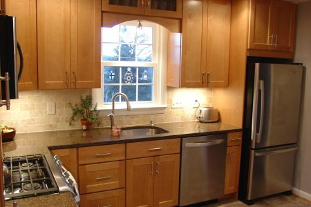small traditional l shaped kitchen design1