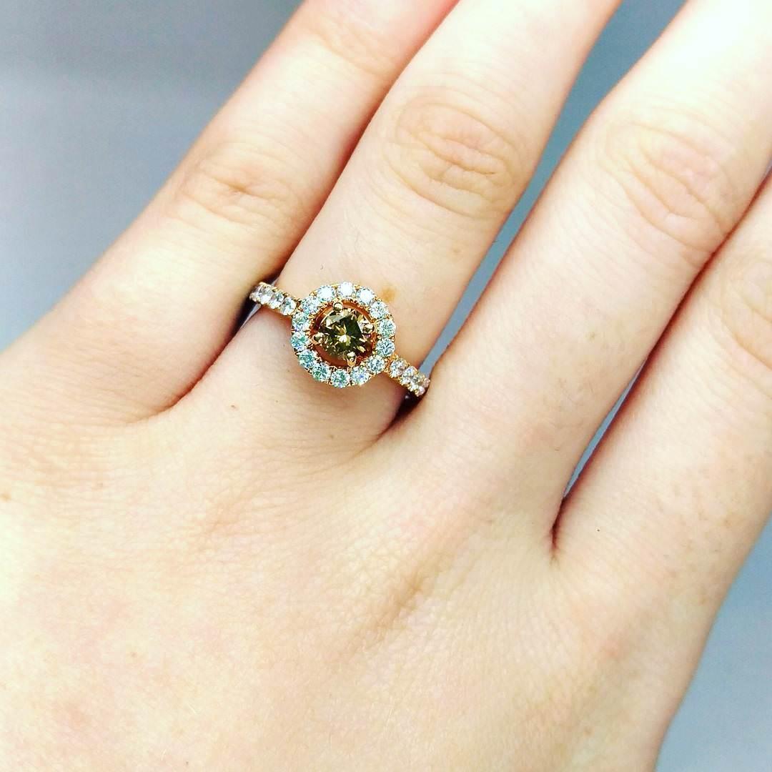 chocolate diamond ring chocolate diamond wedding rings Amazing Chocolate Diamond Ring