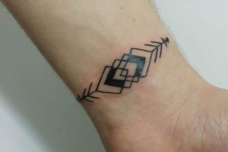 small design tattoo