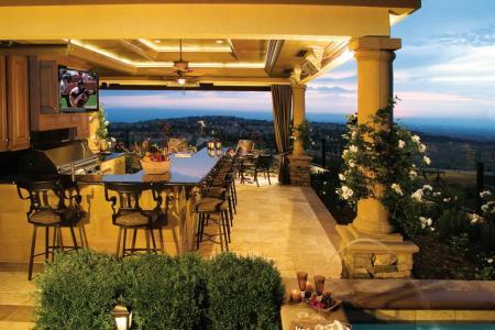 22 outdoor kitchen bar designs, decorating ideas | design