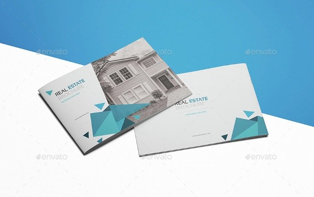 21  Real Estate Brochure Designs  PSD Download   Design Trends     Minimalist Real Estate Brochure