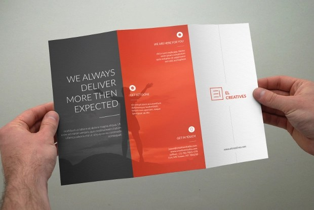 21  Tri Fold Brochure Design  PSD Download   Design Trends   Premium     Clean Multipurpose Trifold Brochure