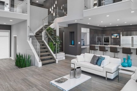 18 living room stairs designs, ideas | design trends